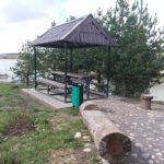 Беседки на Цнянском водохранилище - Зеленый Луг