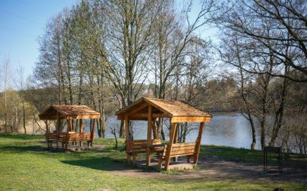 Беседки на Волчковичском водохранилище - Птичь